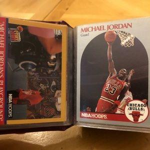 Micheal Jordan basketball card 120